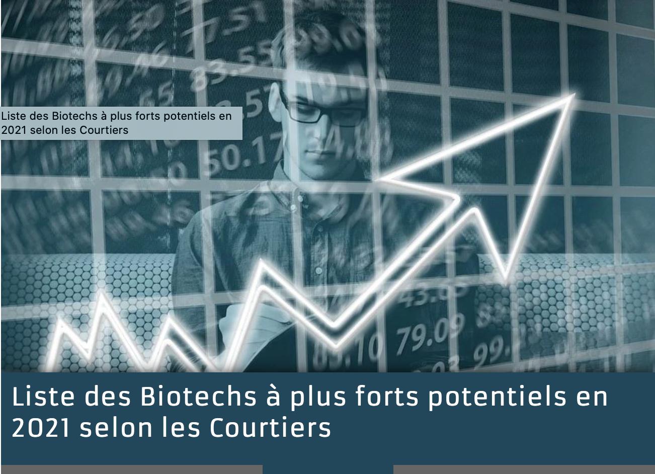 Aperçu du site BiotechBourse.fr
